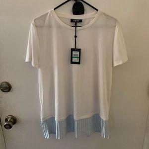 DKNY Short Sleeve Blouse